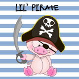Little Pirate Royalty Free Stock Photos