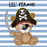 Little Pirate Royalty Free Stock Image