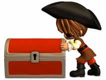 Little Pirate - Toon Figure Royalty Free Stock Image