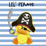 little piratkopierar Arkivbilder