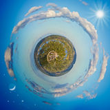 Little planet Royalty Free Stock Image