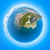 Little planet Gibraltar Royalty Free Stock Image