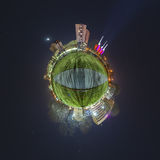 Little planet Hannover Royalty Free Stock Photos