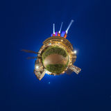 Little planet Hannover Stock Photo