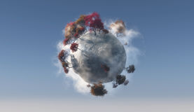 Little planet Royalty Free Stock Photo