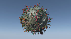 Little planet Stock Image