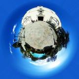 Little planet. San Martín de Valdeiglesias. Madrid`s community. Royalty Free Stock Photos