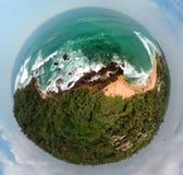 Little planet sriLanka royalty free stock image