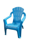 Little plastic chair Stock Images