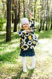 Little playful girl Royalty Free Stock Images