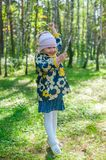 Little playful girl Royalty Free Stock Image