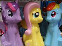 Little ponies Stock Photography