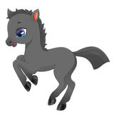Little pony illustration Royalty Free Stock Image