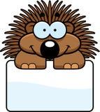 Little Porcupine Sign Stock Photo