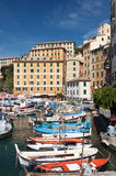 Little port in Camogli Stock Photo