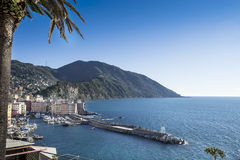 Little port of Camogli Stock Image