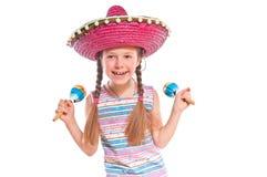 Little positiv girl Stock Photography