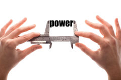 Little power Stock Image