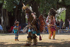 Little Powwow Dancer Royalty Free Stock Photos