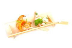 Little prawn snacks Royalty Free Stock Photo