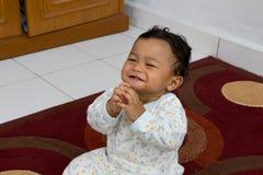 Little prayer. Stock Photography