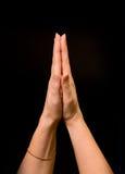Little prayer Stock Image
