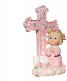 A little praying girl. Stock Images