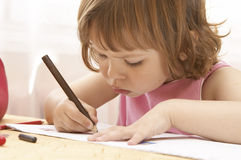 Little preschooler Royalty Free Stock Images