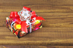 A little present box Stock Photo