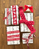Little presents in boxes Stock Images