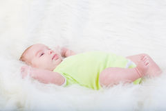 Little pretty baby Stock Images