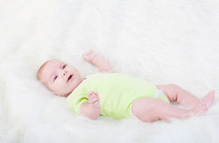Little pretty baby Stock Photography