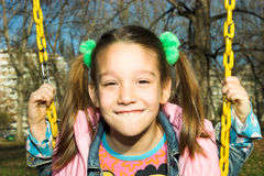 A little pretty child Stock Photography