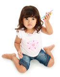 Little pretty girl Stock Images