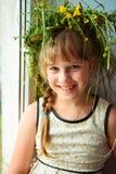 Little pretty girl Stock Photography