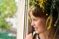 Little pretty girl Royalty Free Stock Photos