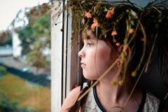 Little pretty girl Royalty Free Stock Image