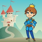 Little Prince Background Royalty Free Stock Photography