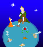 The Little Prince Royalty Free Stock Photo
