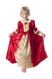Little princess. Little girl dressed like a pretty princess Stock Photography