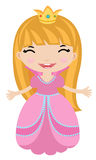 Little princess vector illustration