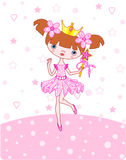 Little princess royalty free illustration