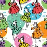 Little princess background Stock Image