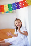 Little princess birthday Stock Photography