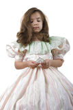 Little Princess and Crown Royalty Free Stock Photography