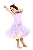 Little princess dancing Royalty Free Stock Photo