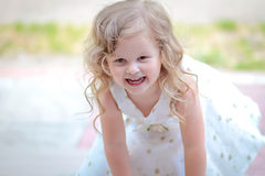 Little princess dress Royalty Free Stock Image