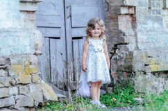 Little princess dress Stock Image