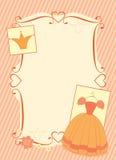 Little princess frame Stock Image