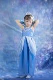 Little princess girl  posiing in studio Stock Photography